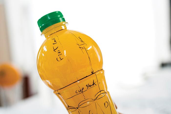 Siya果汁包装设计