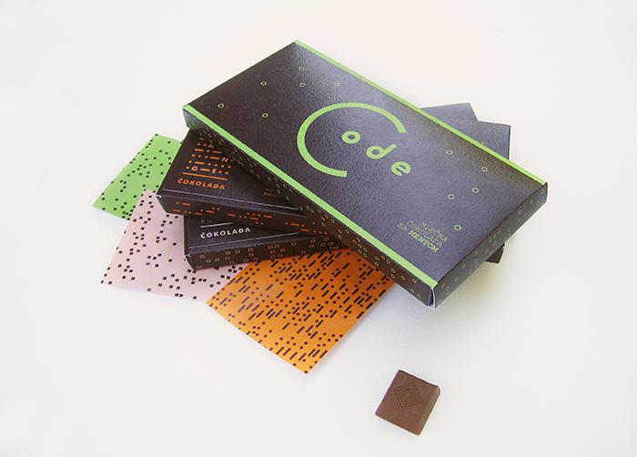 Code巧克力包装设计