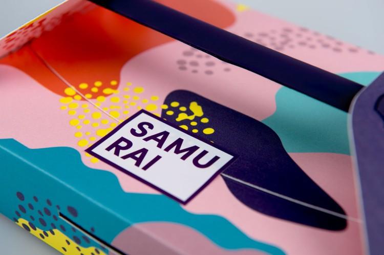 SAMURAI日式餐盒包装设计