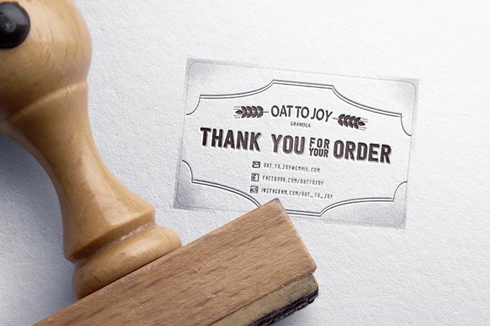 Oat to Joy有机麦片包装设计