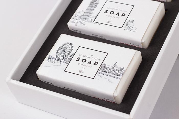 London field香皂包装设计
