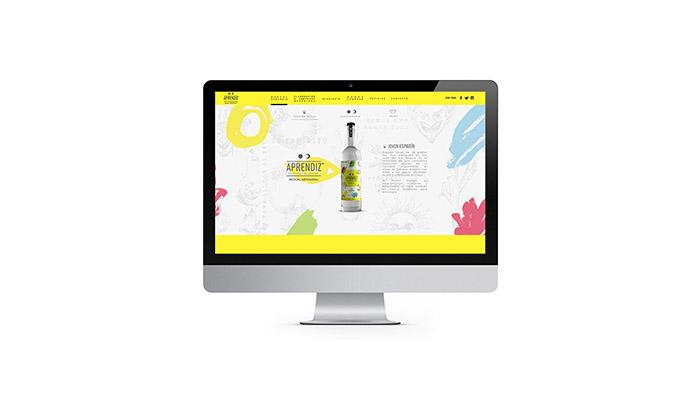 APRENDIZ酒品牌和包装设计