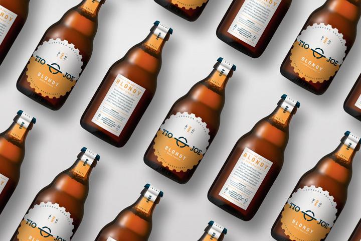 Blondy啤酒包装设计