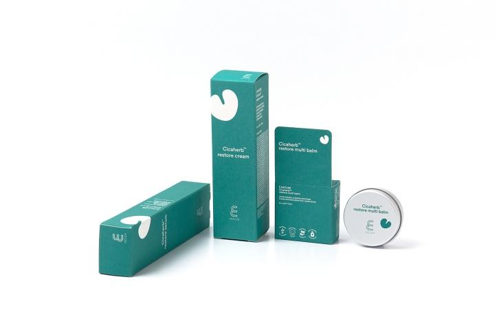 韩国E NATURE极简风格化妆品包装设计