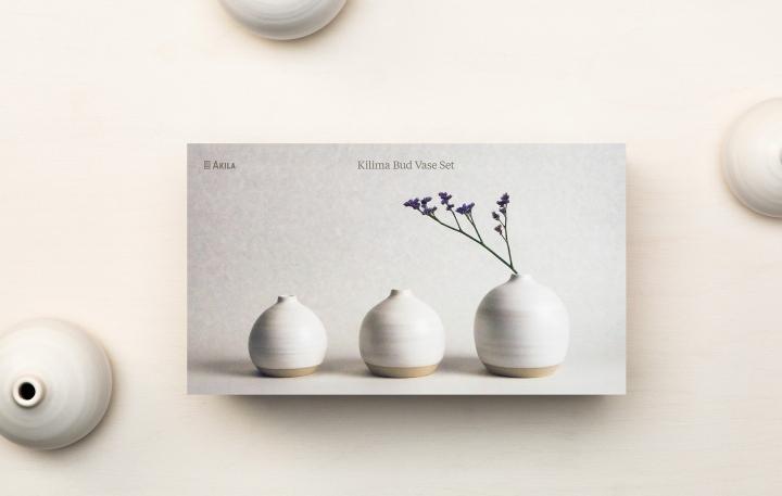 Akila手作陶瓷艺术品包装设计