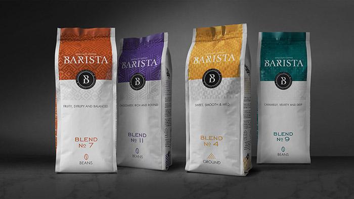 Barista咖啡包装设计