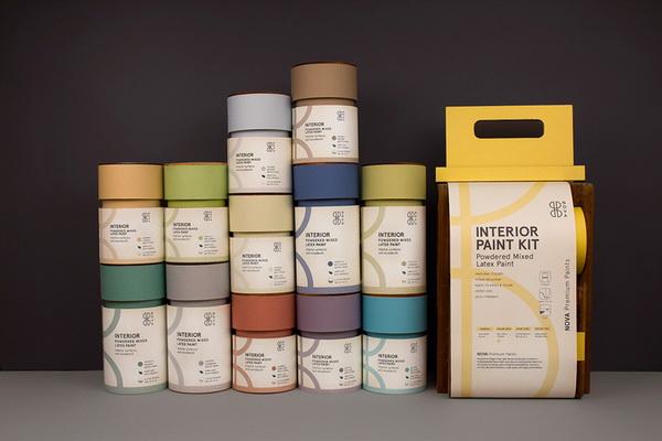 Nova绘画颜料包装设计