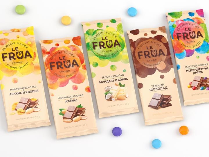 Le Frua巧克力包装设计
