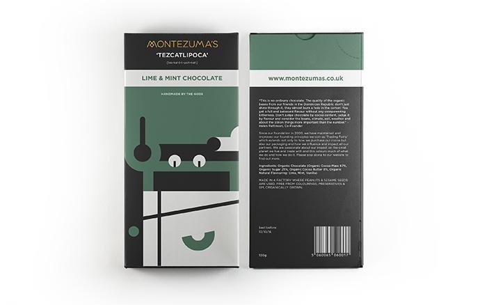 Montezuma's巧克力包装设计