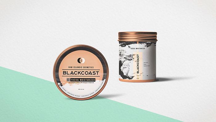 护肤品牌BLACKCOAST包装和品牌设计欣赏