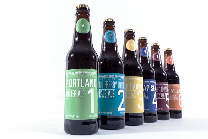 Mainely啤酒包装设计