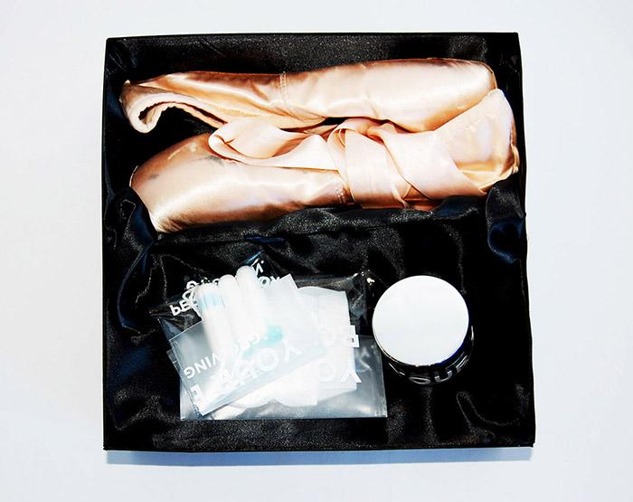 漂亮的芭蕾舞鞋包装设计