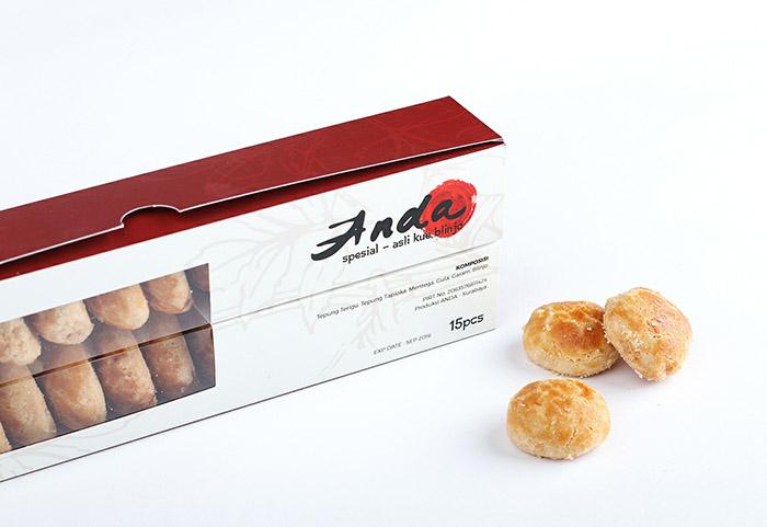 印尼Anda烧饼包装设计