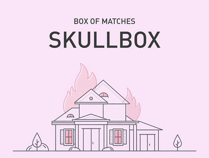 Skullbox火柴盒概念包装设计