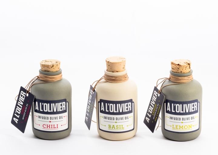 A L'Olivier橄榄油包装设计