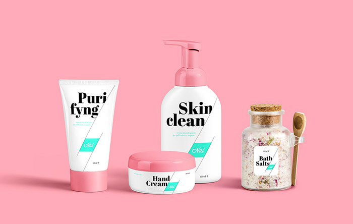 Nat化妆品包装设计