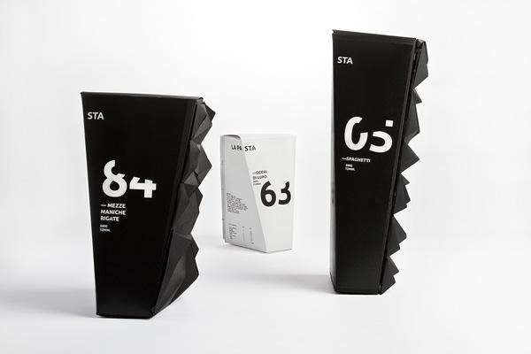 30款国外面条包装设计