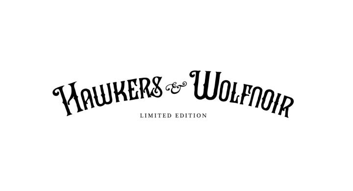 Hawkers & Wolfnoir限量版太阳镜包装设计
