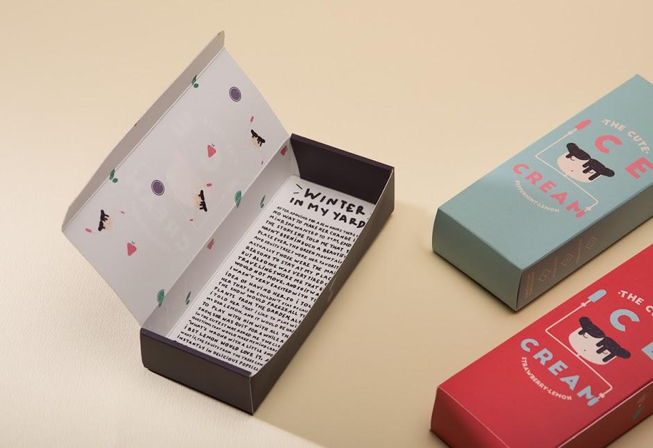 The Cute Ice Cream冰棒包装设计