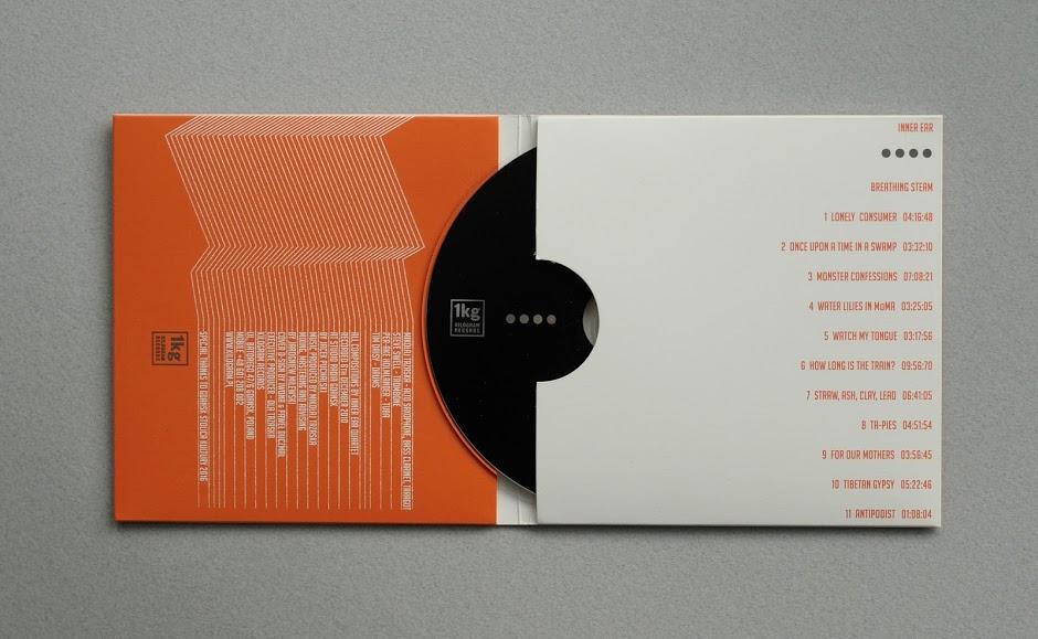 Inner Ear 唱片CD设计