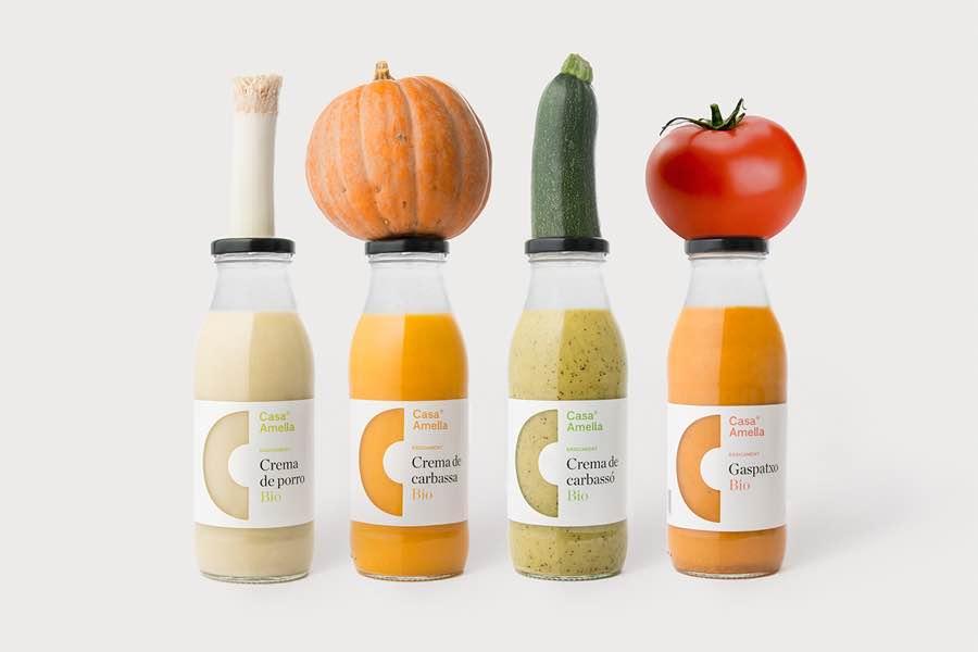 Casa Amella食品和饮料包装设计