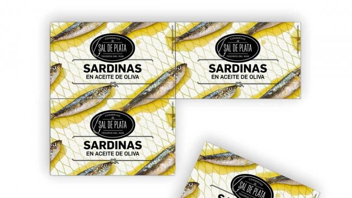 Sal de Plata海鲜制品包装设计