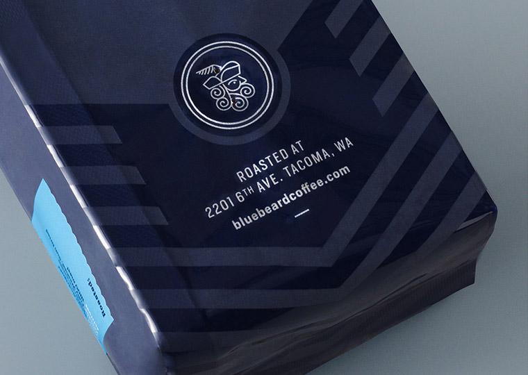 Blue Beard咖啡包装设计