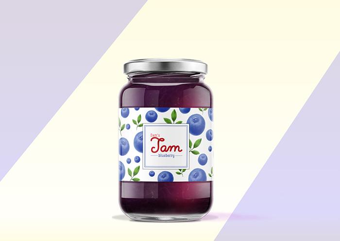 Sam's果酱包装设计