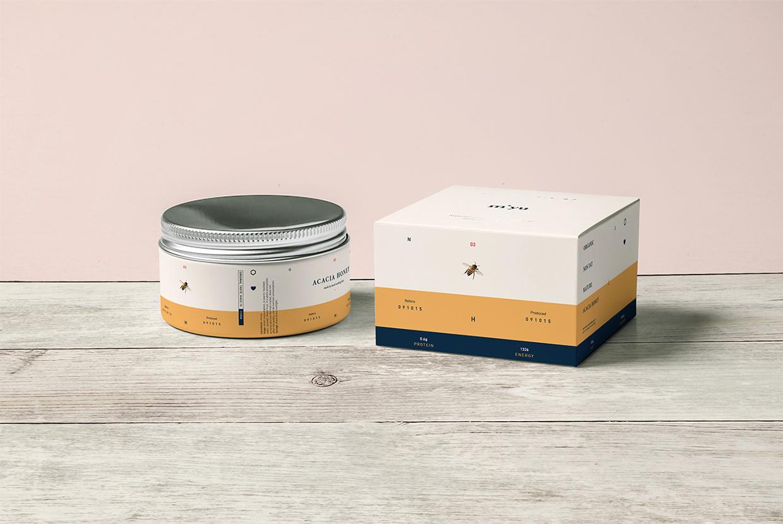 Myiu蜂蜜水果茶包装设计