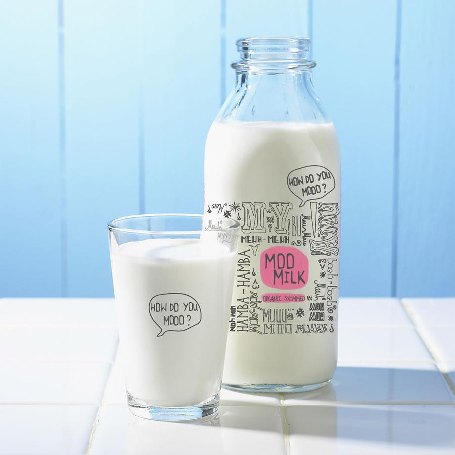 精美时尚的食品和牛奶包装设计