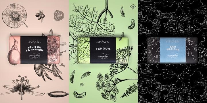 香水品牌Monsillage包装设计