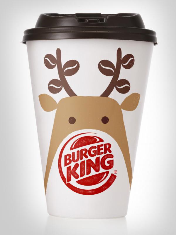 Burger King汉堡王圣诞包装设计
