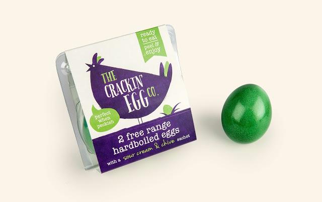 Crackin' Egg蛋盒包装设计