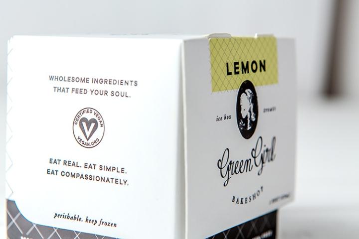 Green Girl面包房品牌和包装设计