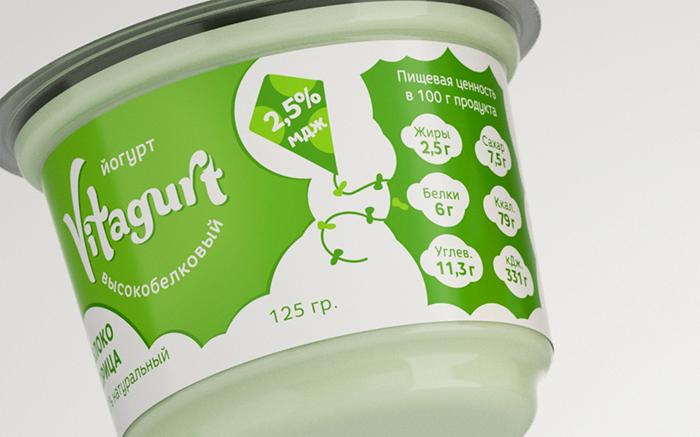 Vitagurt酸奶包装设计