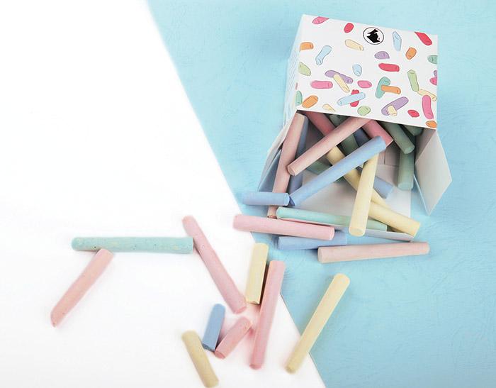 Sarjana彩色粉笔包装设计