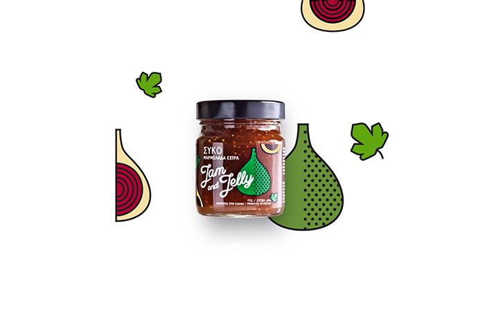 Jam and Jelly果酱包装设计