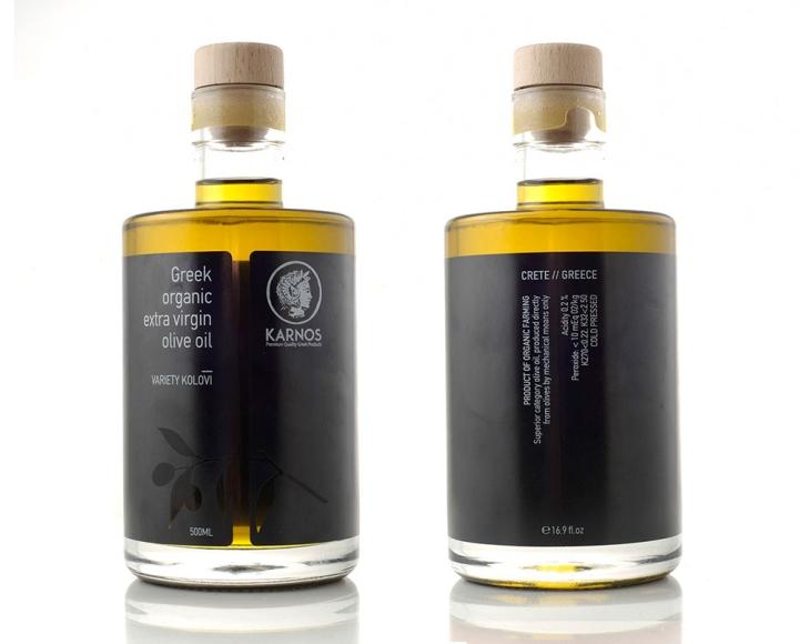 KARNOS橄榄油包装设计
