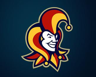 标志设计元素运用实例:小丑