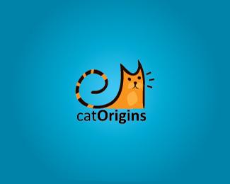 50款猫为题材的logo设计欣赏