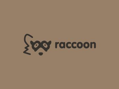 标志设计元素运用实例:浣熊