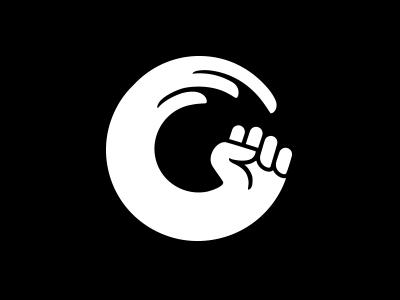 标志设计元素运用实例:拳头