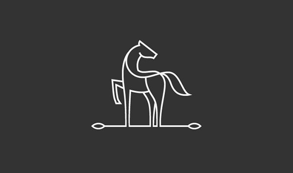 38款黑白logo符号元素设计
