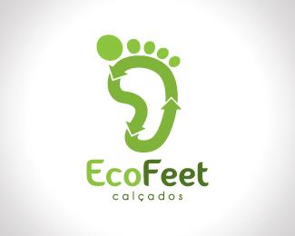 标志设计元素运用实例:脚印,脚丫
