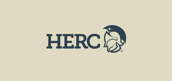 标志设计元素应用实例:古代战士(斯巴达战士)