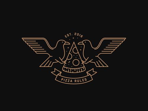 38款线条艺术logo设计欣赏