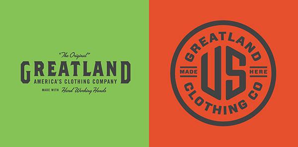 Allan Peters复古风格logo设计