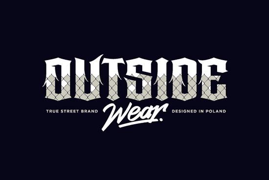 Piotr Ciesielski创意字体Logo设计