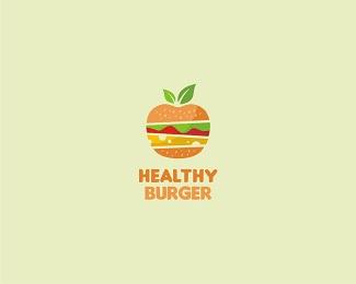 标志设计元素运用实例:汉堡(二)