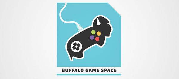 标志设计元素应用实例:游戏手柄